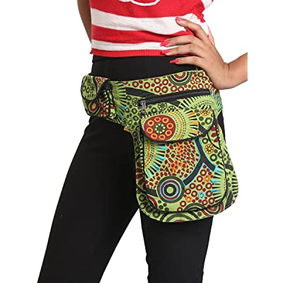 Handmade Hipster Fanny Pack / Shoulder Messanger Bag, Unique Verified Fair Trade