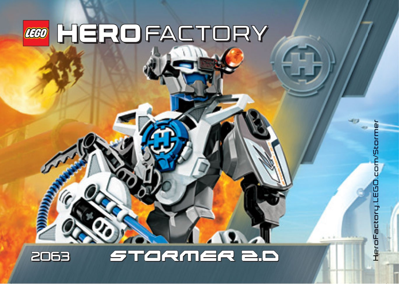 Lego Hero Factory 2063 Stormer 20 Amazon Toys Games