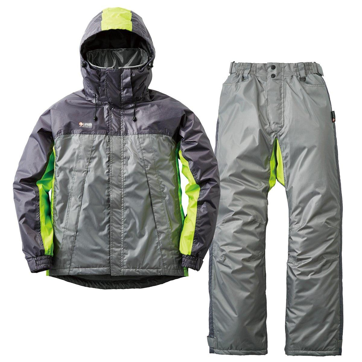 一番の リプナー(LIPNER) シャイン リフレクター防水防寒スーツ シャイン Medium B076K6NQFP グレー グレー B076K6NQFP, ギフト&グルメ北海道:85a3bfdc --- specialcharacter.co