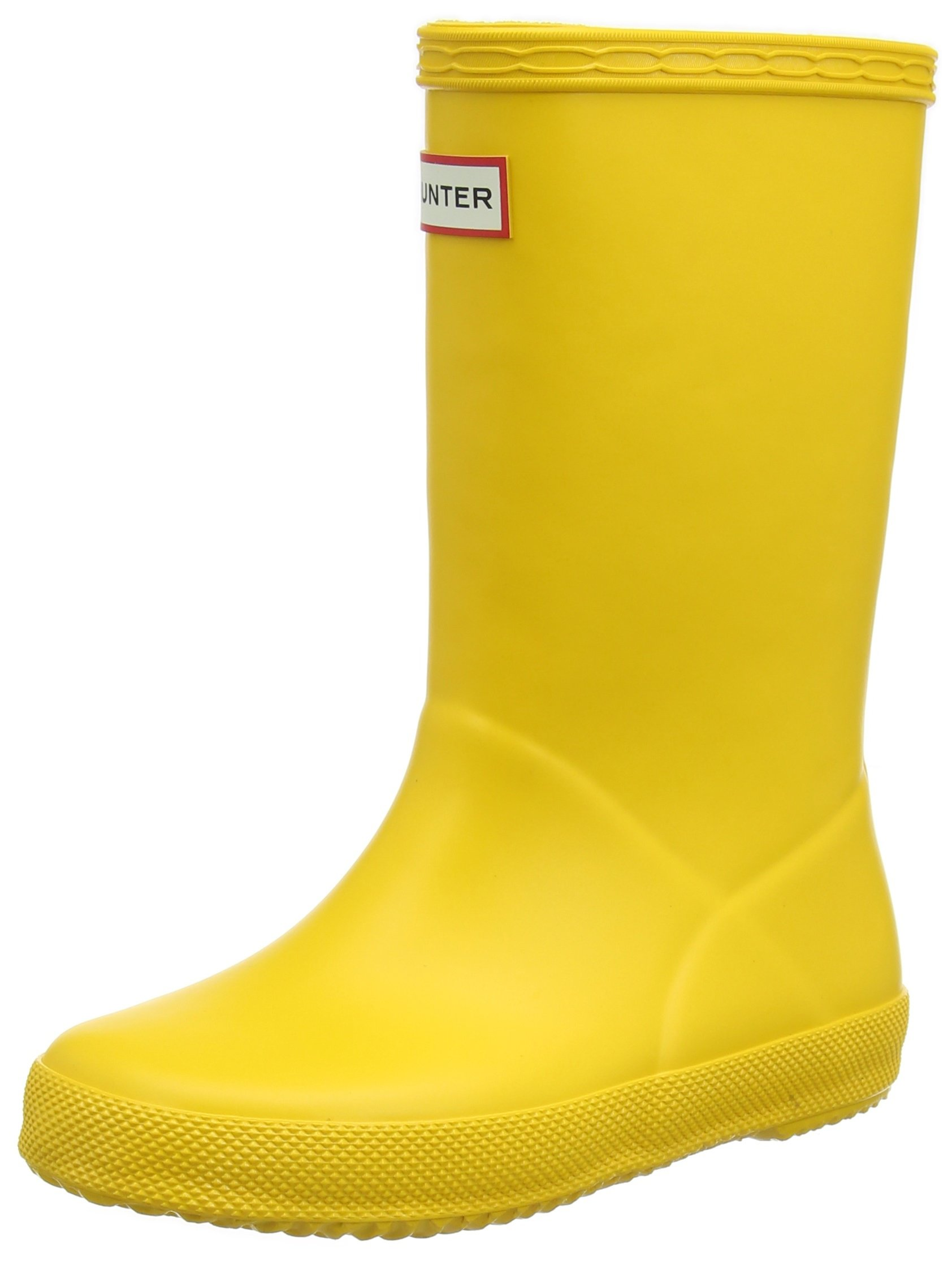 Hunters Boots First Classic Boot - Toddlers' Yellow, 8.0