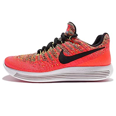 95ecd080fb8c5 Amazon.com   Nike Lunarepic Low Flyknit 2 Running Gradeschool Girl's Shoes  Size   Running