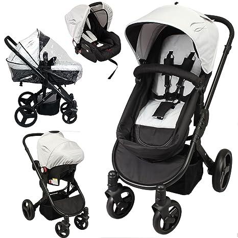 C260 - Cochecito de bebé, convertible, 2 en 1 (capazo o silla