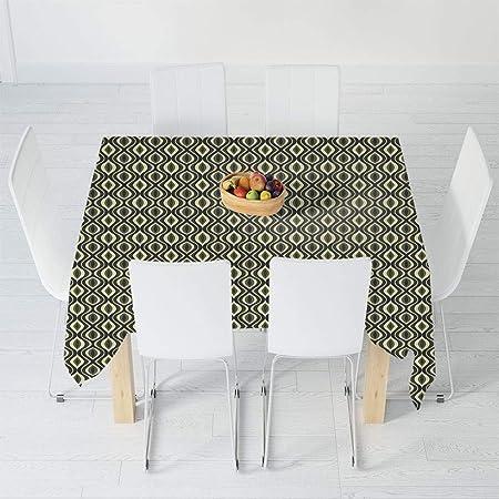TecBillion Mantel Impermeable, geométrico, para Mesa de té, Mesa ...