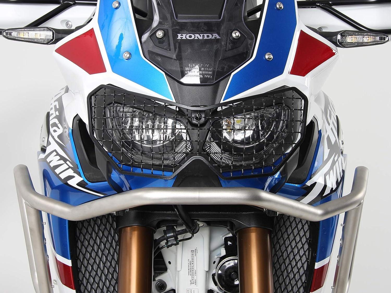 schwarz f/ür Honda CRF1000L Africa Twin Adventure Sports ab 2018 Hepco/&Becker Lampenschutzgitter