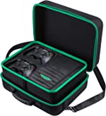 Zadii Hard Carrying Case Compatible with Xbox One X, Fit Xbox