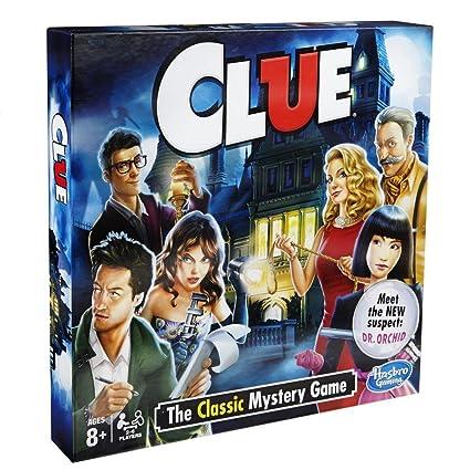 Amazon Hasbro Clue Game Amazon Exclusive Toys Games
