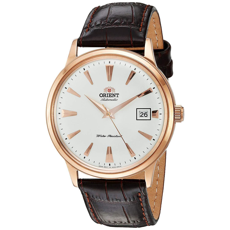 Orient Reloj Analógico para Hombre de Automático con Correa en Cuero FAC00002W0