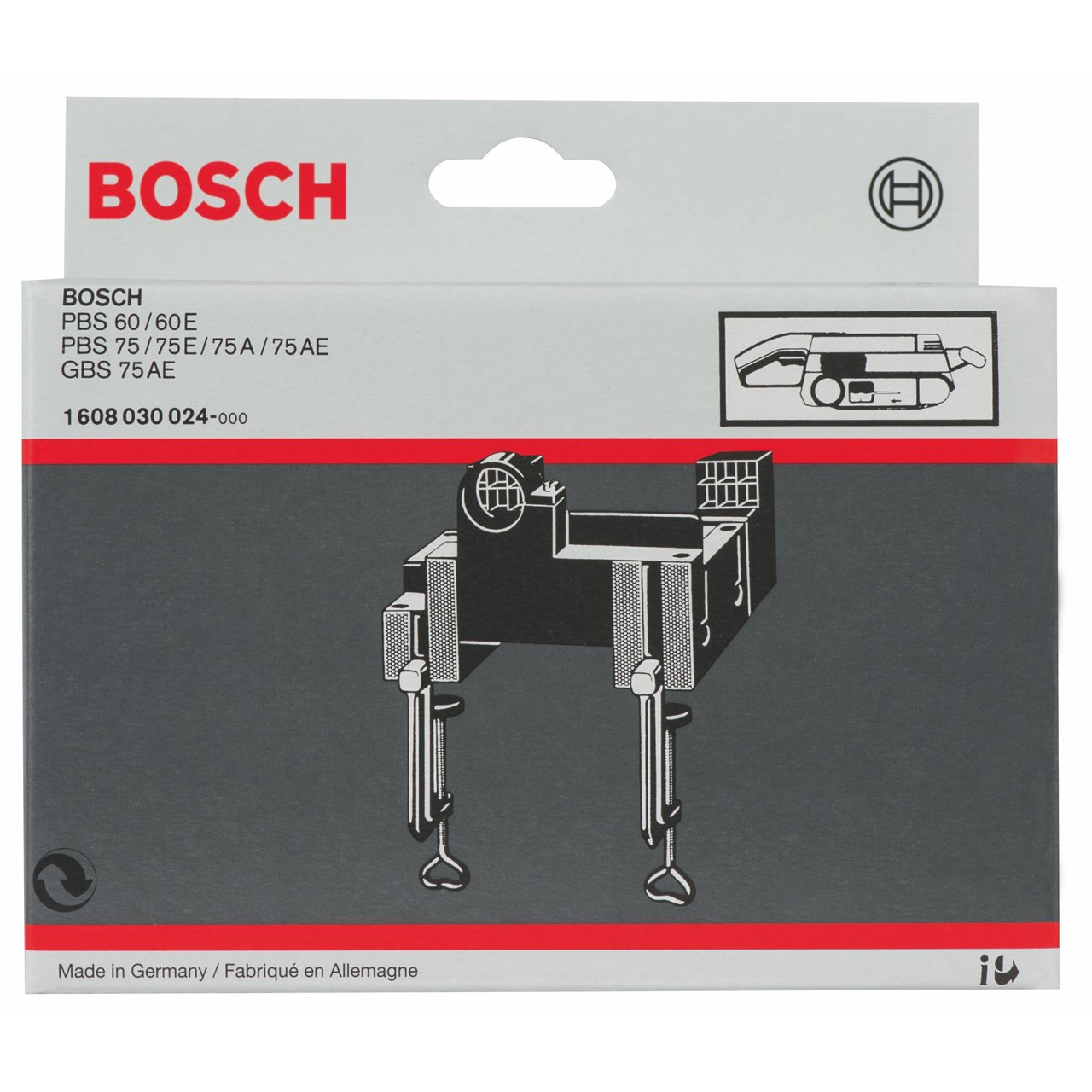 Bosch 1608030024 Sub-Frame for Bosch Belt Sanders GBS 75 A/GBS 75 AE Professional/PBS 75 Robert Bosch Limited