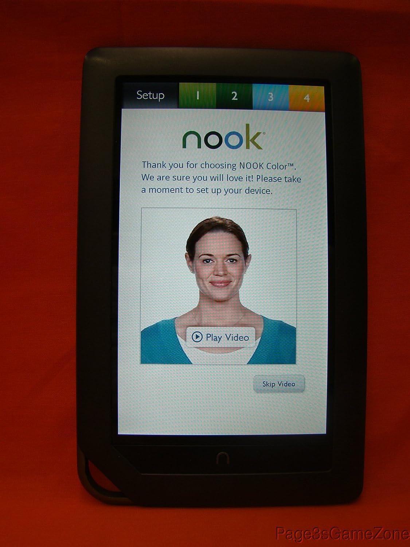 Noble Nook Color Compatible LED Lit