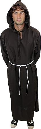 DRESS ME UP - L022/56 Disfraz hombre hábito monje sacerdote ...