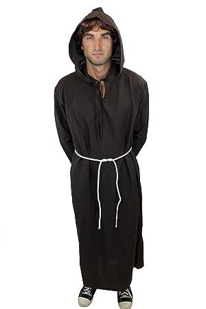 DRESS ME UP - L029/46 Disfraz hombre hábito monje sacerdote cura ...