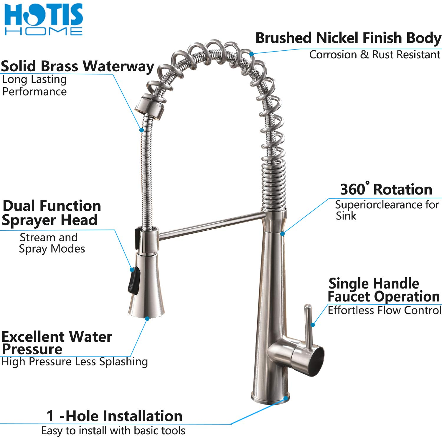 Best Water Conserving Kitchen Faucet Reviews 20