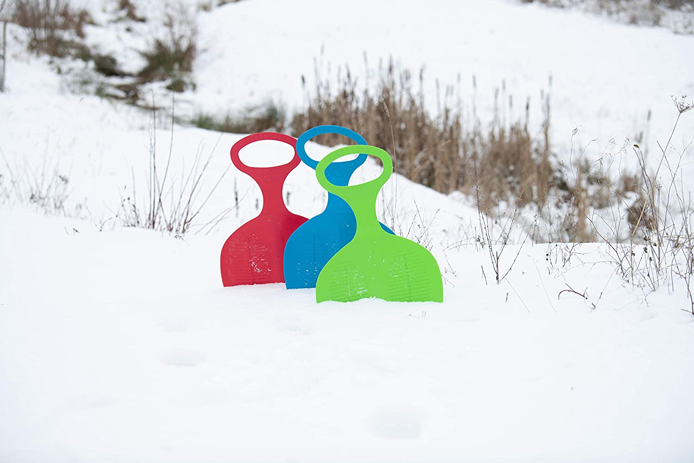 A-7 YIDYFA Kinder Schneeflitzer Schneerutscher Kunststoff Sand Gras Rutscher Schnee Schlitten Rodel Plastik Bob mit Handgriff f/ür Kinder Erwachsene Winter Ski Board Zubeh/ör