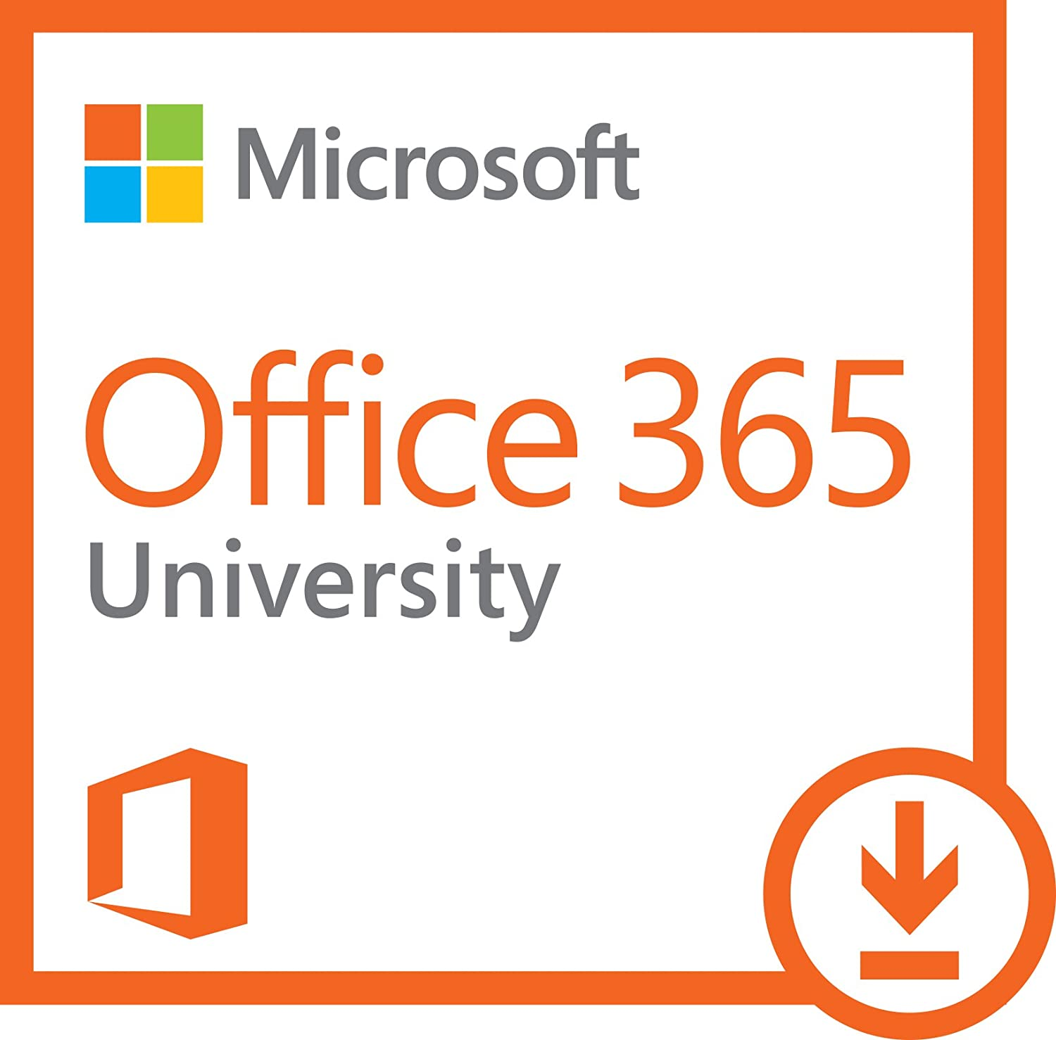 Amazon.com: Microsoft Office 365 University 4 Year | PC or Mac ...