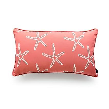 Amazon Hofdeco Decorative Outdoor Lumbar Pillow Cover Water Mesmerizing Decorative Outdoor Lumbar Pillows