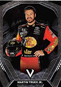 2018 Panini Victory Lane Racing #28 Martin Truex Jr. Bass Pro Shops-TRACKER Boats/Furniture Row Racing/Toyota