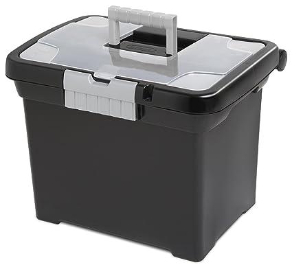 Amazon STERILITE Portable File Box Storage File Boxes Best Decorative Box Files