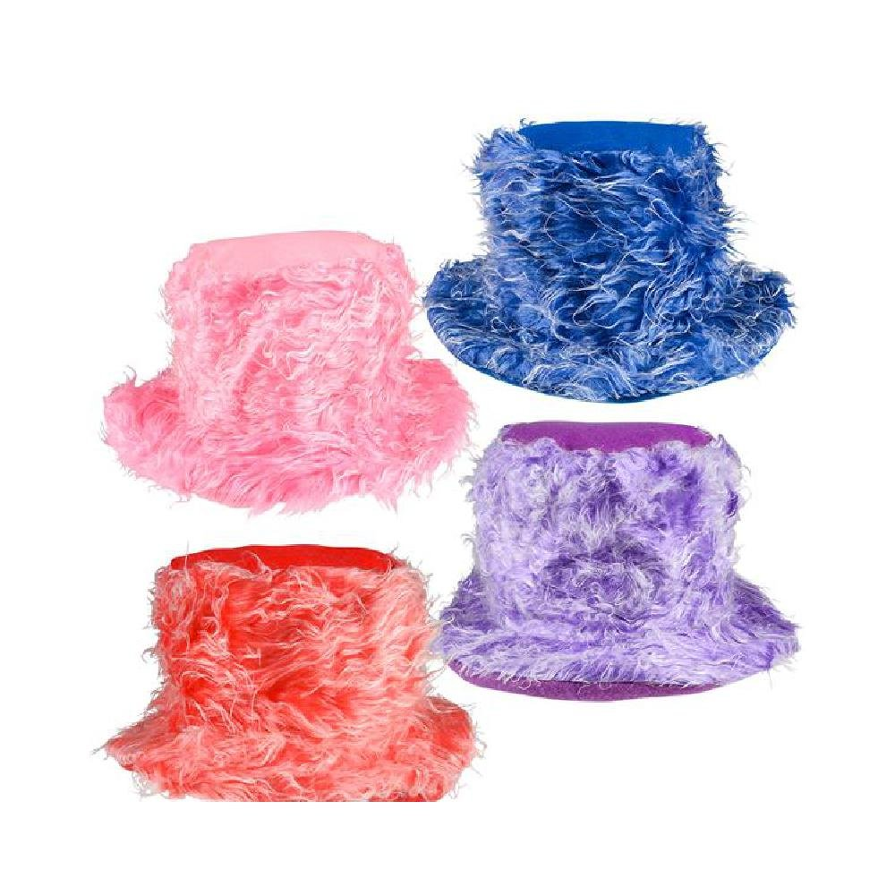 Furry Bucket Hat (With Sticky Notes)