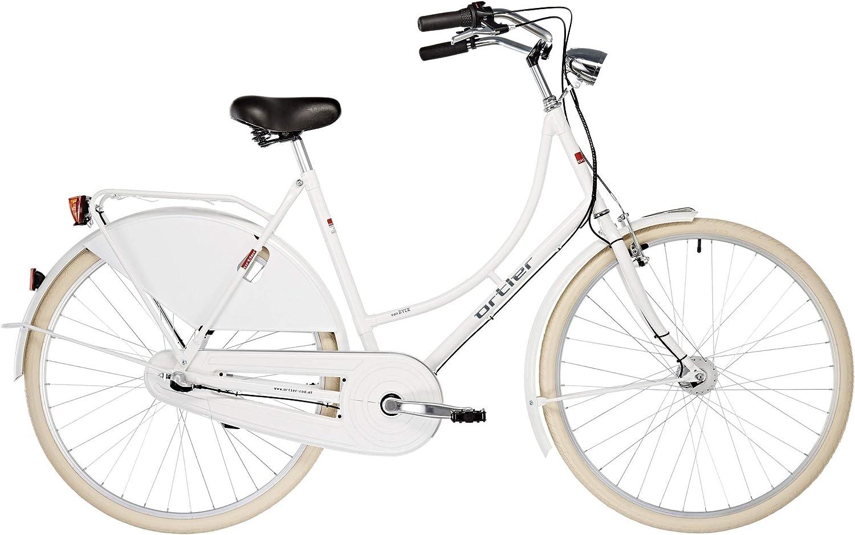ORTLER Van Dyck - Bicicleta Holandesa - Blanco 2019 Bicicleta ...