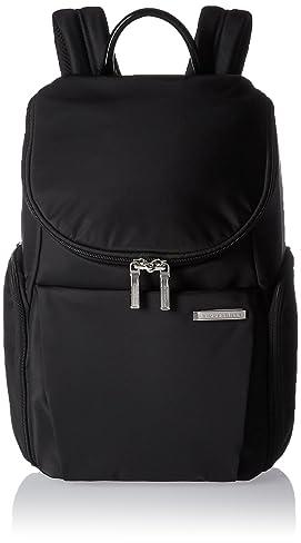 Briggs & Riley Sympatico Small U Zip Backpack, Onyx