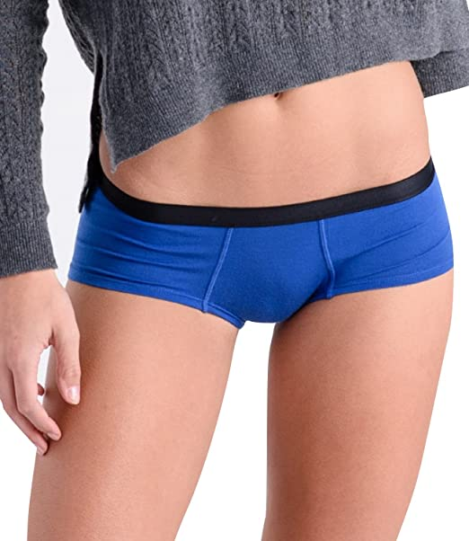 f399930dc5e COMFORTABLE CLUB Women s Modal Cheeky Briefs Hipster Panties Underwear  (2X-Large