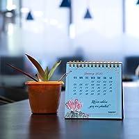 "Thinkpot 2020 Bloom Desk Calendar - 5"" X 5"""