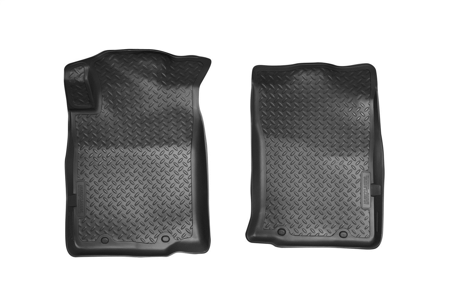 05-14 Std Cab 35471 Husky Liners Front Floor Liners Fits 05-15 Tacoma Access//Double
