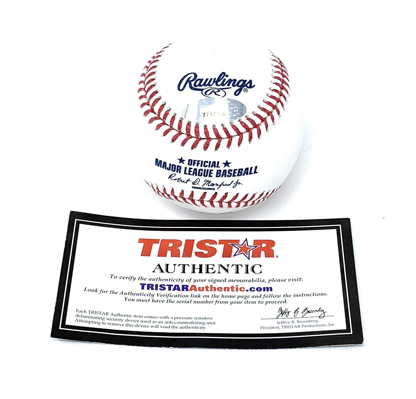 Josh Reddick Houston Astros Signed Autograph Official MLB Baseball Tristar Authentic Certified