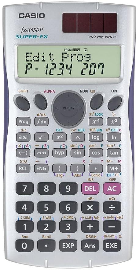 Casio super fx-3650p programmable scientific calculator fx3650p 2.
