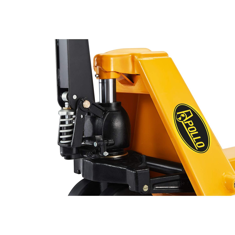 ApolloLift【Extra Heavy-Duty】Manual Pallet Jack Truck 11000lbs Capacity 48Lx27W Fork