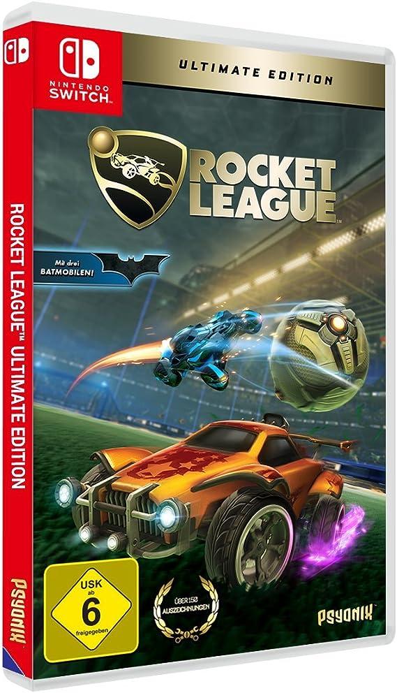 Rocket League Ultimate Edition Nintendo Switch Importación Alemana Amazon Es Videojuegos