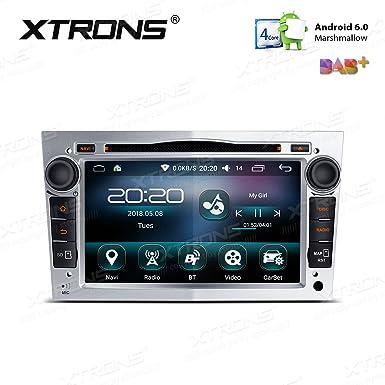 Pantalla digital multitáctil para coche Xtrons, de 7 pulgadas, con Android 6.0, Quad