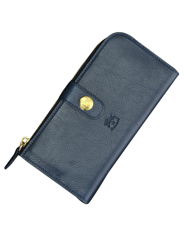 (イルビゾンテ) IL BISONTE C0782 Alida アリダ 長財布 ブルー [並行輸入品] B07DC3RGW2ブルー