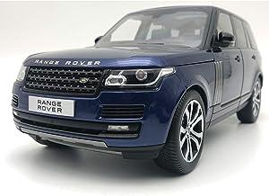 Range Rover 2017 SV Autobiography Dynamic Metallic Dark Blue 1/18 Diecast Model Car by LCD Models LCD 18001 BL