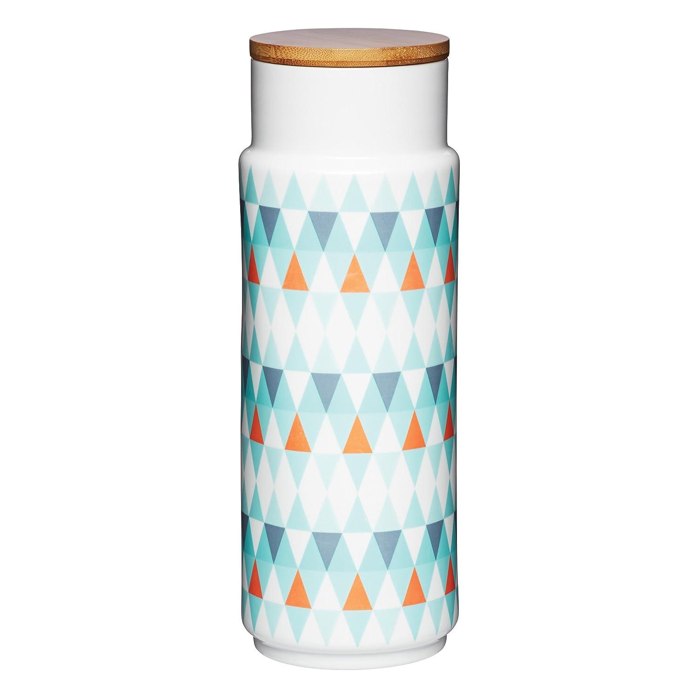 KitchenCraft Geometti Ceramic Pasta Storage Jar: Amazon.co.uk ...