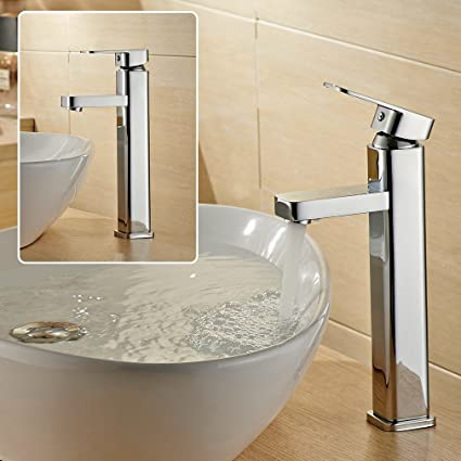 Auralum&ARUHE® 3 in 1 Set Miscelatore Rubinetto lavabo da bagno ...