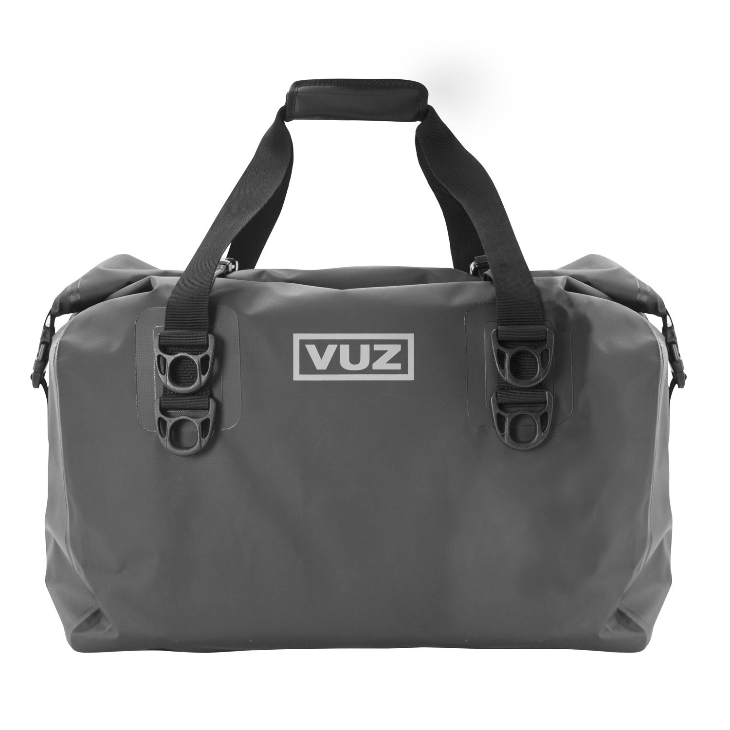 VUZ Moto Dry Duffle Motorcycle Tail Bag, Waterproof Motor-Bike Luggage, 45-Liters