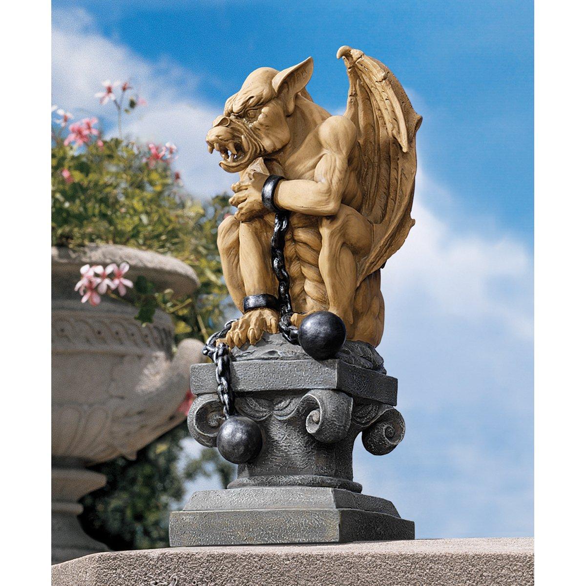 High Quality Amazon.com : Design Toscano Ball And Chain Gothic Dungeon Gargoyle Statue :  Outdoor Statues : Garden U0026 Outdoor