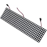 BTF-LIGHTING WS2812B Addressable LED Pixel Matrix Panel Light 8x32 256 Pixels Programmable Dream Color Digital 5050 RGB LED Display Screen DC5V Compatible w/ Adafruit NeoPixel Library Arduino Raspberry Pi