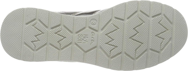 ARA Neaple, Sneaker Donna Marrone Camel Weissgold Weiss 07 gIDT4s