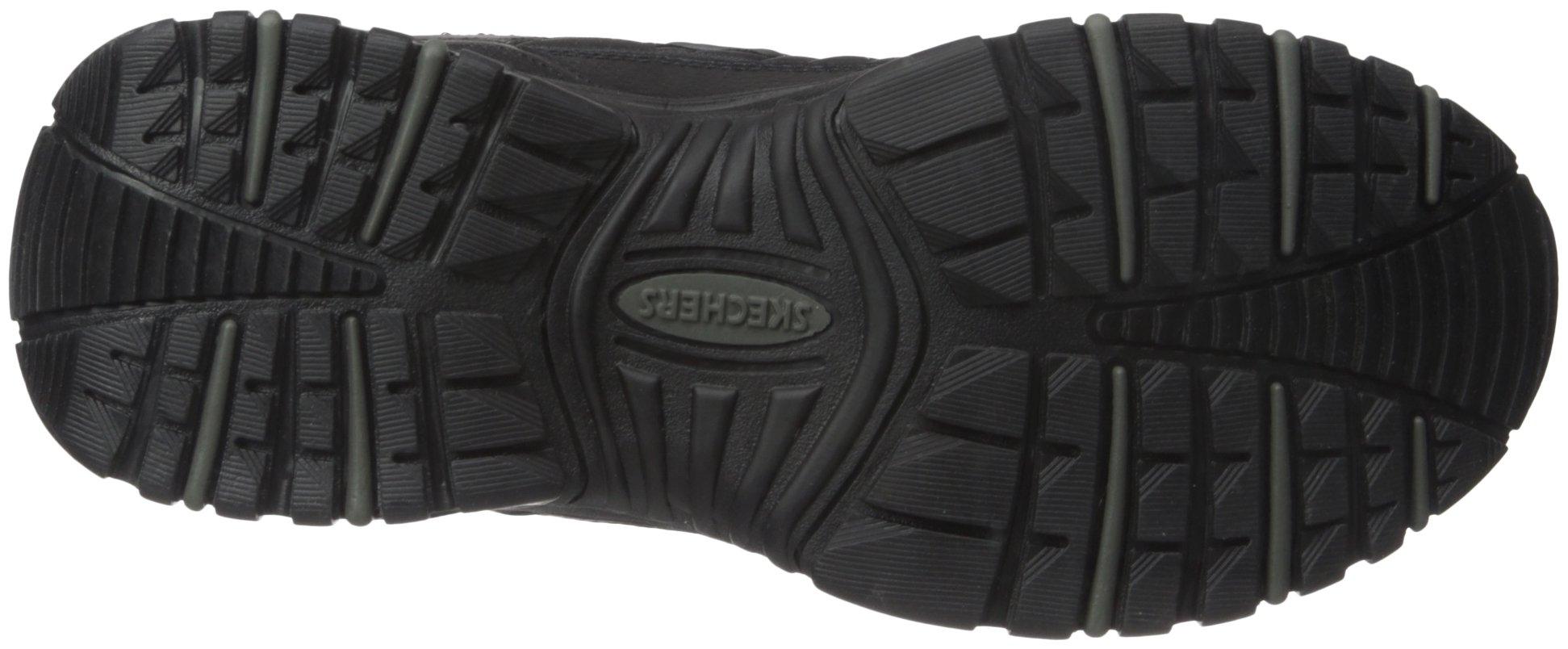 Skechers Sport Men's Energy Afterburn Lace-Up Sneaker,Black,13 M by Skechers (Image #3)