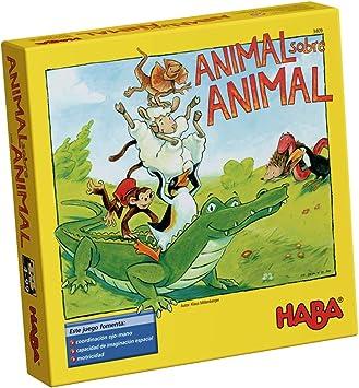 Outletdelocio. Juego de Mesa Haba. Animal Sobre Animal. Edicion en Castellano: Amazon.es: Juguetes y juegos