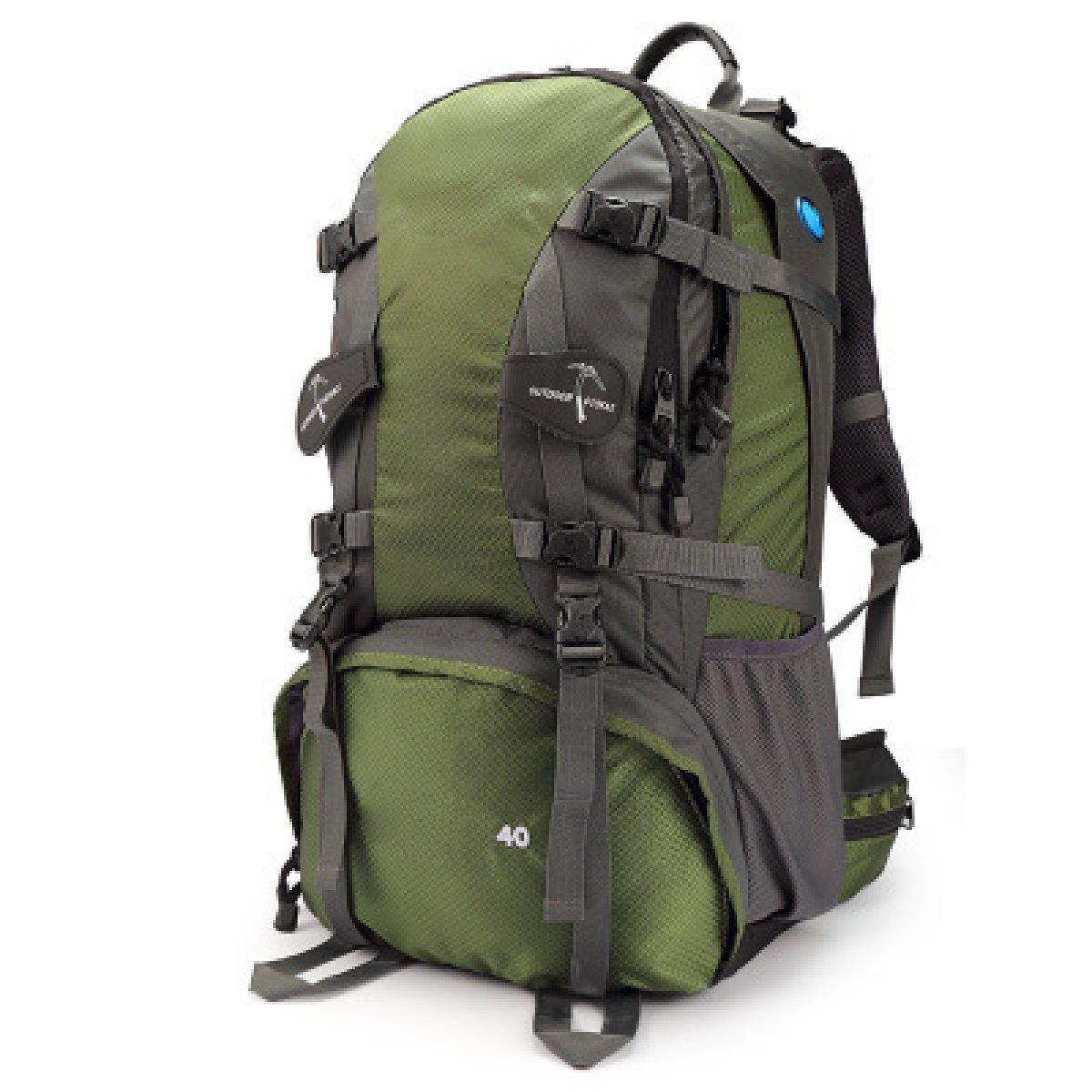 Armyvert  40L Sac D'alpinisme Camping Ski Nautique voyage voyage de plein air Riding sac à dos,rouge