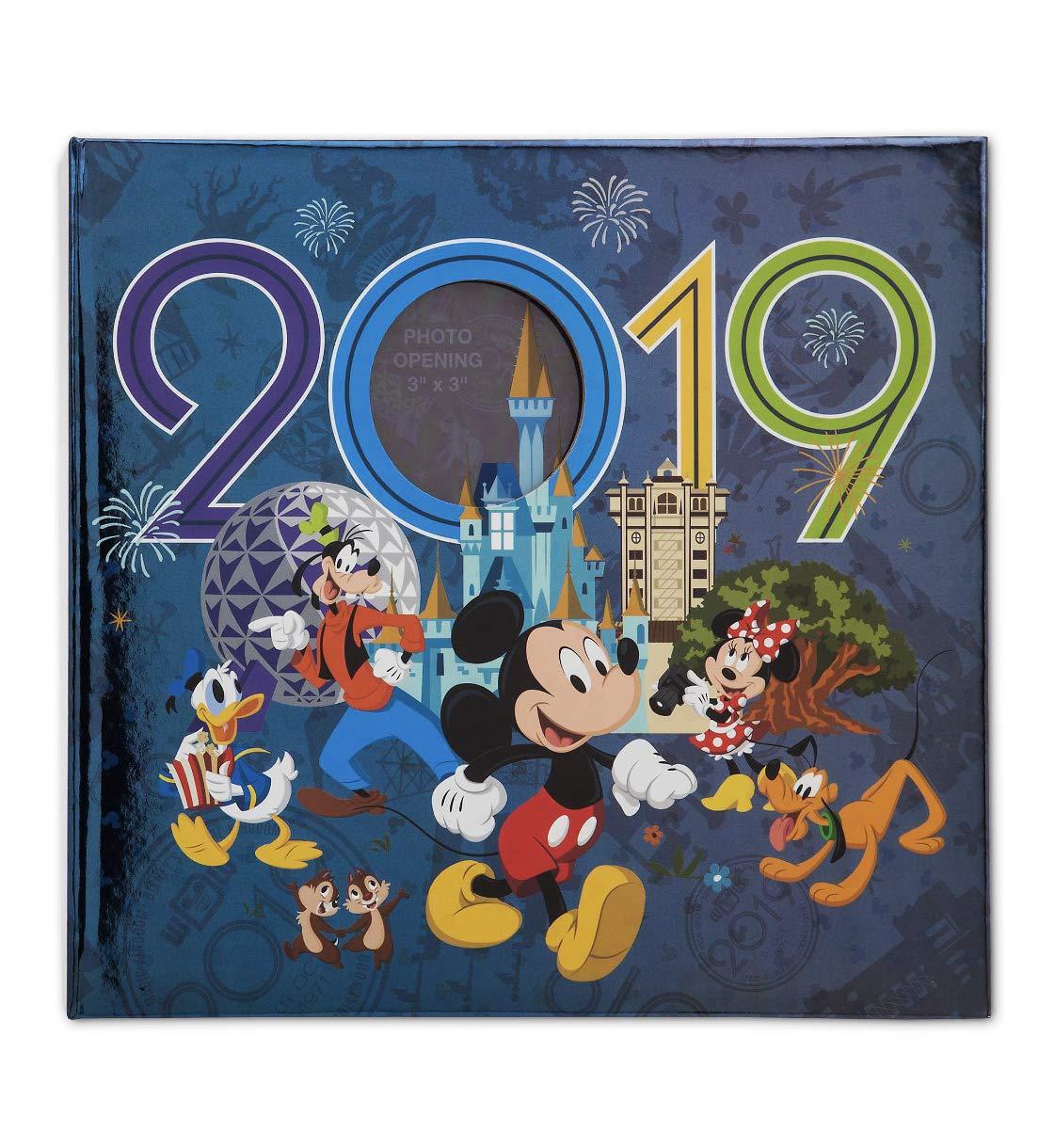 Walt Disney World 2019 Mickey Mouse Photo Album Holds 200 Photos by