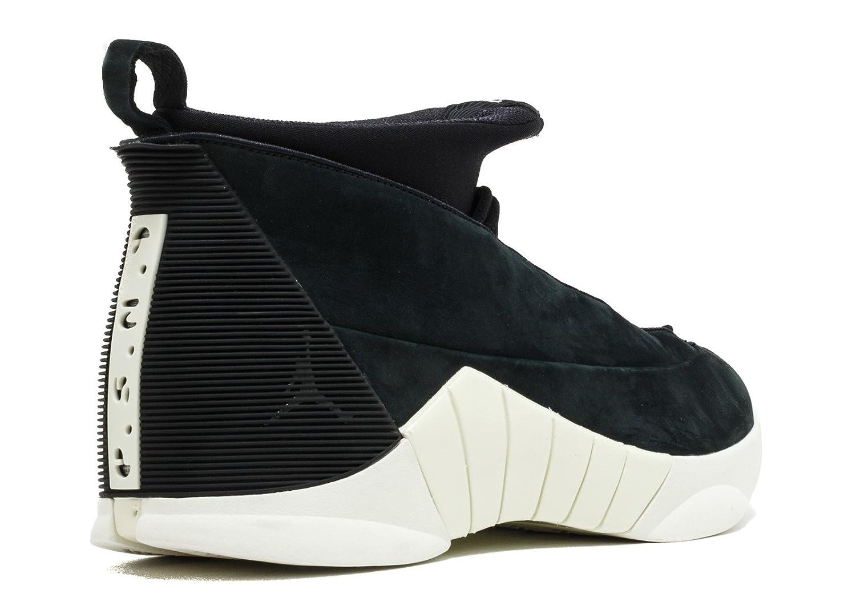 5dae430d7ec Nike Air Jordan 15 Retro Psny Mens Basketball Trainers 921194 Sneakers  Shoes (uk 9 us 10 eu 44, Black Sail Black 011): Amazon.co.uk: Shoes & Bags