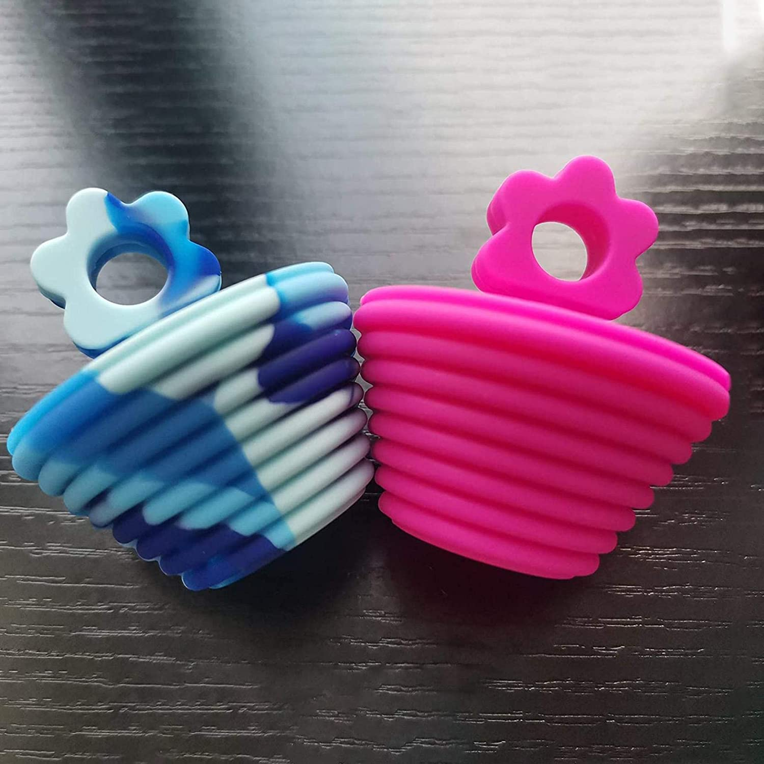 Ruidada Flower Silicone Plugs Wear-Resistant And Corrosion-Resistant Bathtub Plugs For Bathrooms Kitchens And Sinks 2 PCS