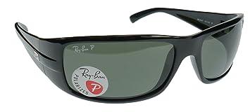 Ray-Ban Sidestreet 4057 Gafas de Sol Polarizadas, un Diseño Envolvente,