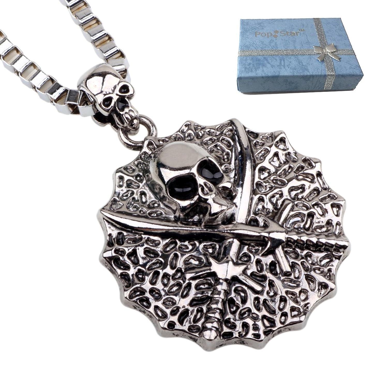 """PopStar@ """"Sea Pirate"""" Pendant w/ 22"""" Box Chain Necklace (PS-5032)"""