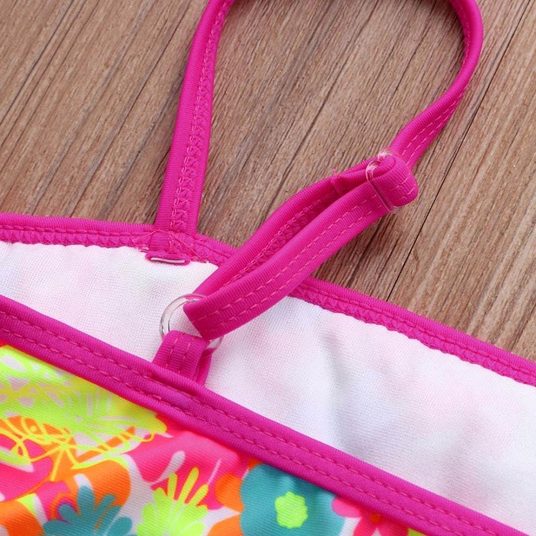 Fille Maillot de Bain Bikini Familizo Filles Imprimer Bikini