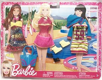 Amazon.es: Barbie - T7543 - Accesorio para muñecas Tenues Loisirs - Vacation: Juguetes y juegos